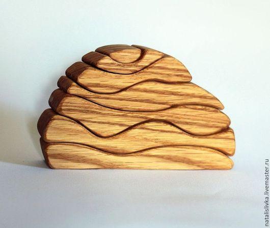 Вальдорфская игрушка ручной работы. Ярмарка Мастеров - ручная работа. Купить Камешек 2 Конструктор пирамидка, вальдорфская деревянная игрушка. Handmade.
