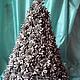 Статуэтки ручной работы. Ярмарка Мастеров - ручная работа. Купить новогодняя елка из шишек. Handmade. Серебряный, шишки, природные материалы