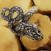 Украшения handmade. Livemaster - original item Snake ring unisex unique handcrafted ring. Handmade.