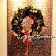 Рождественский венок с сухофруктами и корицей из живой хвои (нобилис) создаст праздничную атмосферу и настроение в Вашем доме! Аромат цитруса,корицы и хвои будет напоминать Вам, что главный праздник г