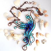 Necklace handmade. Livemaster - original item Copper necklace