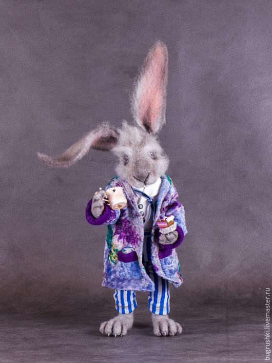 """Сказочные персонажи ручной работы. Ярмарка Мастеров - ручная работа. Купить Мартовский Заяц (из """"Алисы в стране чудес""""). Handmade."""