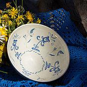 Посуда ручной работы. Ярмарка Мастеров - ручная работа Пиала Утренние цветы. Handmade.