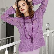 Одежда handmade. Livemaster - original item Author`s sweater mohair. Handmade.