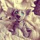 Игрушки животные, ручной работы. Ярмарка Мастеров - ручная работа. Купить Котик Баунти. Handmade. Серый, фелтинг, шерсть 100%