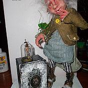 Куклы и игрушки ручной работы. Ярмарка Мастеров - ручная работа Эльф-коротышка.(продан). Handmade.