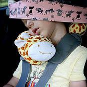 Работы для детей, ручной работы. Ярмарка Мастеров - ручная работа Фиксатор головы в автокресле. Handmade.