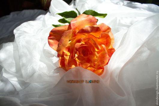 Интерьерные композиции ручной работы. Ярмарка Мастеров - ручная работа. Купить Роза солнца. Handmade. Рыжий, на все случаи жизни, долголетие