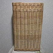 Для дома и интерьера ручной работы. Ярмарка Мастеров - ручная работа Корзина для белья, плетёная из ивовой лозы. Handmade.