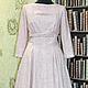 Для примера платье из ткани CHANEL в розовых тонах