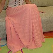 Одежда ручной работы. Ярмарка Мастеров - ручная работа Юбка плиссе(гофре) полусолнце. Handmade.
