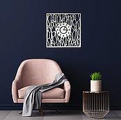 Для дома и интерьера handmade. Livemaster - original item Interior wall clock. Handmade.