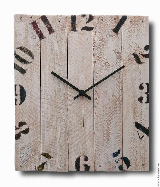 Часы для дома ручной работы. Ярмарка Мастеров - ручная работа. Купить Часы деревянные. Handmade. Настенные часы, часы из дерева