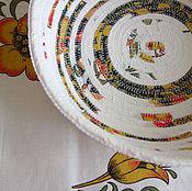Для дома и интерьера ручной работы. Ярмарка Мастеров - ручная работа Хлебница - сухарница текстильная. Handmade.