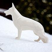 handmade. Livemaster - original item White shepherd. Handmade.