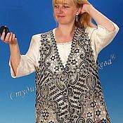 Одежда handmade. Livemaster - original item Openwork vest Vologda Vyatka lace. Handmade.