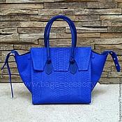 Сумки и аксессуары handmade. Livemaster - original item Bag genuine Python leather. Handmade.