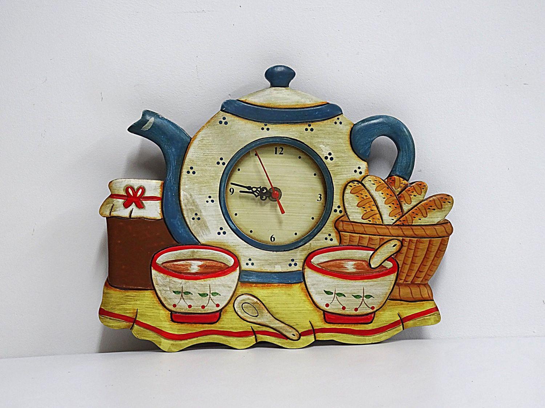 Kitchen clock, France, Vintage interior, Kaliningrad,  Фото №1