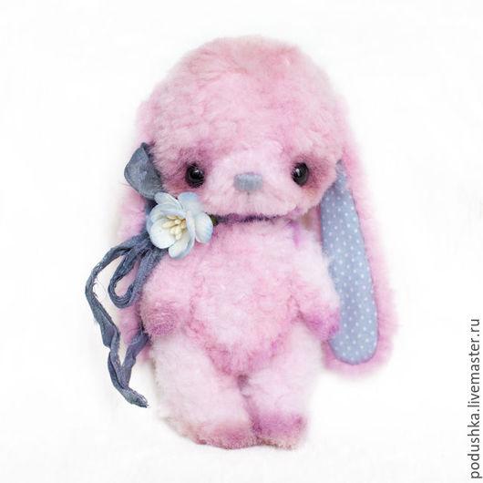 """Куклы и игрушки ручной работы. Ярмарка Мастеров - ручная работа. Купить Выкройка+подробный МК """"Розовый заяц"""". Handmade. Комбинированный"""