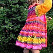 """Работы для детей, ручной работы. Ярмарка Мастеров - ручная работа Кофточка детская """"Радуга"""". Handmade."""
