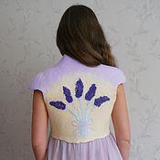 Одежда handmade. Livemaster - original item Felted vest-Bolero