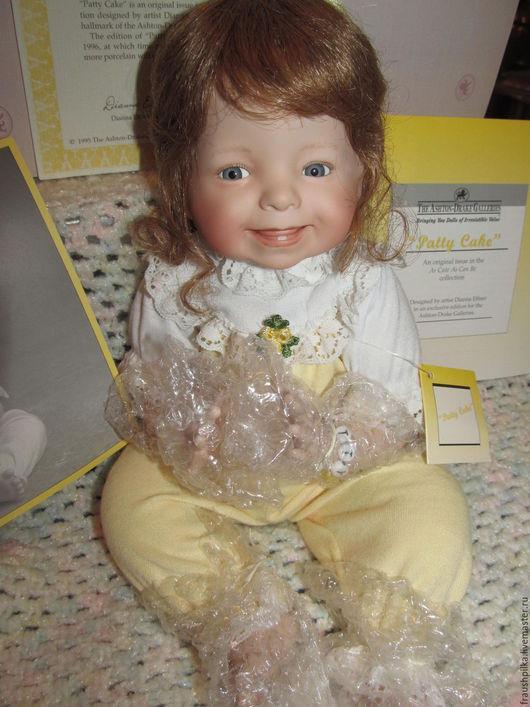 Коллекционные куклы ручной работы. Ярмарка Мастеров - ручная работа. Купить Коллекционная фарфоровая кукла Ладушки от Дианы Эффнер. Handmade.