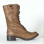 Обувь ручной работы handmade. Livemaster - original item Womens leather boots ankle boots lace-up. Handmade.