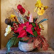 Цветы и флористика ручной работы. Ярмарка Мастеров - ручная работа Экибана. Handmade.
