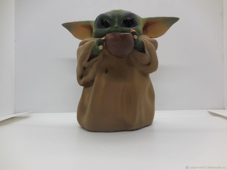 Figurine Baby Yoda Baby Yoda Mandalorian, Custom, St. Petersburg,  Фото №1