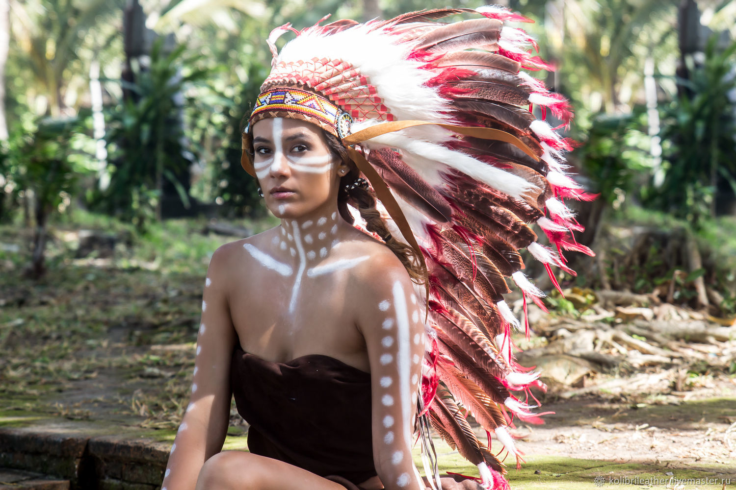 Hat Indian  Indian Christmas costume  Indian hat with feathers – shop  online on Livemaster with shipping - EDQFDCOM   Chelyabinsk