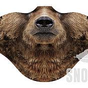Одежда ручной работы. Ярмарка Мастеров - ручная работа Ветрозащитная маска Медведь. Handmade.