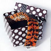 """Украшения ручной работы. Ярмарка Мастеров - ручная работа Браслет """"Тигр"""". Handmade."""