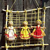Народные сувениры ручной работы. Ярмарка Мастеров - ручная работа Масленица - сувенир  рост 15 см. Handmade.