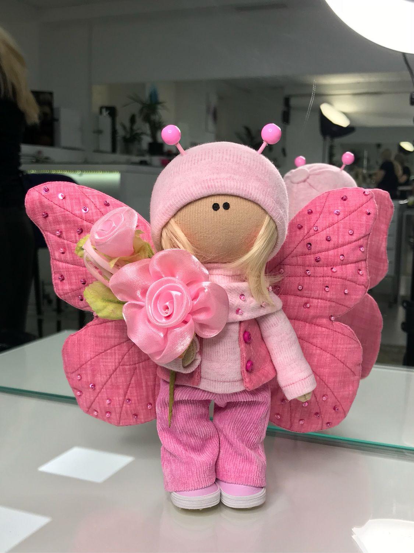 Кукла текстильная Бабочка, Куклы и пупсы, Москва,  Фото №1