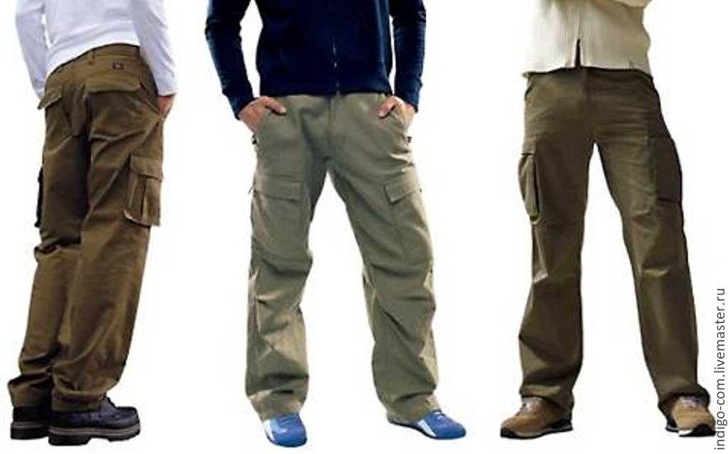 Купите военные и полевые армейские штаны с накладными карманами ... af77a07e067