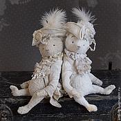Куклы и игрушки ручной работы. Ярмарка Мастеров - ручная работа ХТ-2014 Базиль и Луи — авторские коллекционные мишки Тедди. Handmade.