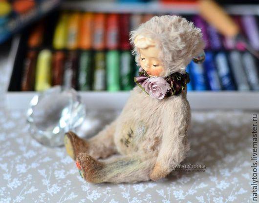 Мишки Тедди ручной работы. Ярмарка Мастеров - ручная работа. Купить Никола. Тедди-долл Teddy-doll Nikola. Handmade.