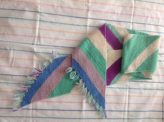 Шарфы и шарфики ручной работы. Ярмарка Мастеров - ручная работа. Купить Вязаный шарф. Handmade. Комбинированный, вязаный шарф