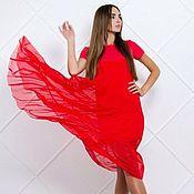 Одежда ручной работы. Ярмарка Мастеров - ручная работа Стильное воздушное платье. Handmade.