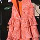 Одежда для девочек, ручной работы. Заказать платье для девочки Я самая...с оборками. Татьяна Лоренц (Lapochki-dochki). Ярмарка Мастеров.