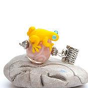 Украшения handmade. Livemaster - original item Glass frog