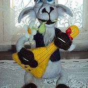 Куклы и игрушки ручной работы. Ярмарка Мастеров - ручная работа козлик с балалайкой. Handmade.