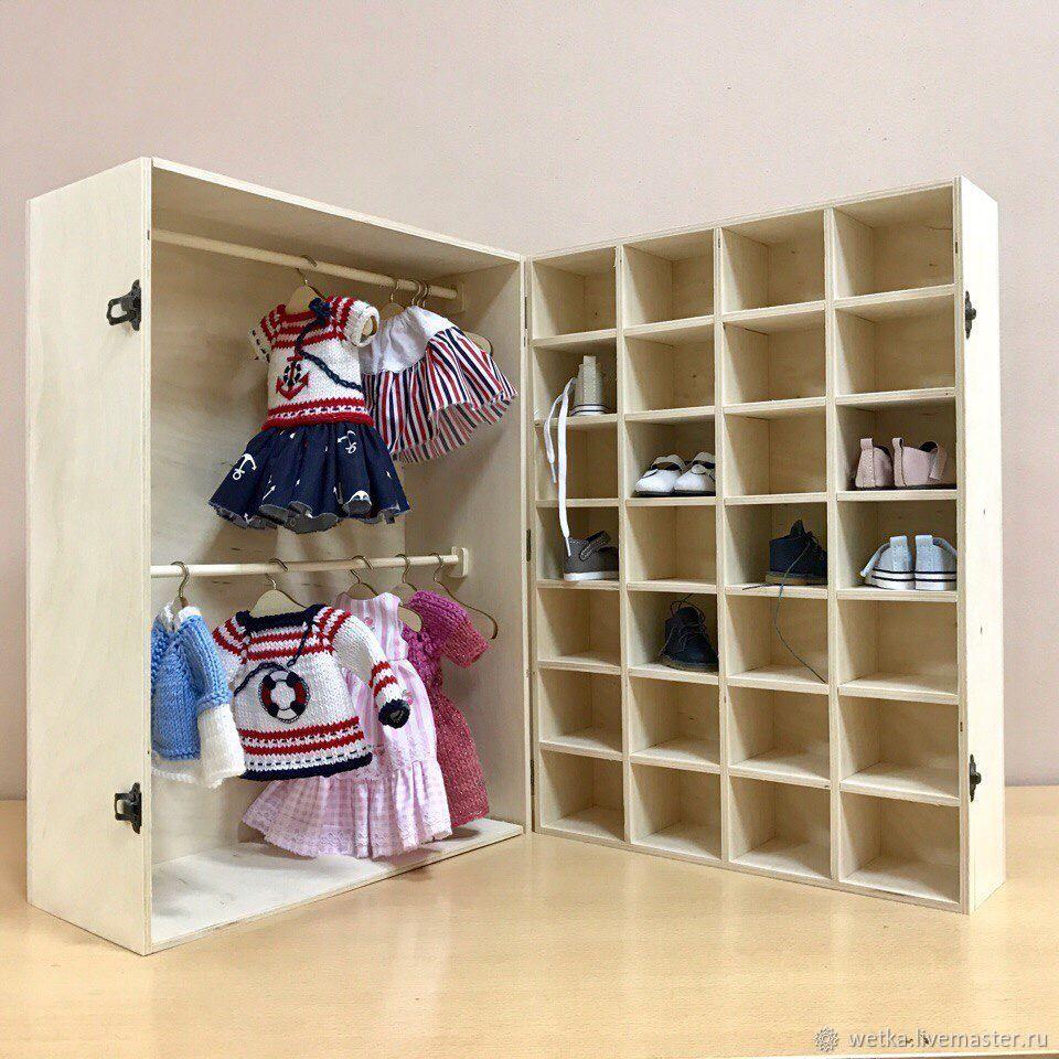 отличие какие шкафы для кукол можно сделать фото вкус индивидуальность