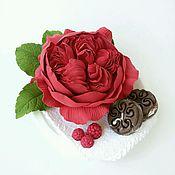 Цветы и флористика ручной работы. Ярмарка Мастеров - ручная работа Пионовидная роза с конфетками. Handmade.