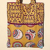 Сумки и аксессуары ручной работы. Ярмарка Мастеров - ручная работа Летняя сумка Curry. Handmade.