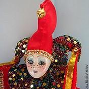 Куклы и игрушки ручной работы. Ярмарка Мастеров - ручная работа Арлекин Каркасная кукла. Handmade.