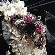 """Украшения ручной работы. Ярмарка Мастеров - ручная работа """" мотылек с настроением весны на крылышках""""). Handmade."""