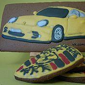 Подарки к праздникам ручной работы. Ярмарка Мастеров - ручная работа Желтый Porsche 911. Handmade.