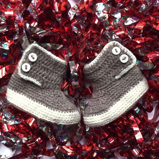 Детская обувь ручной работы. Ярмарка Мастеров - ручная работа. Купить Пинеточки-сапожки. Handmade. Пинетки, пинетки из шерсти