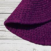 Для дома и интерьера ручной работы. Ярмарка Мастеров - ручная работа Пурпурный ковер ручной работы. Handmade.